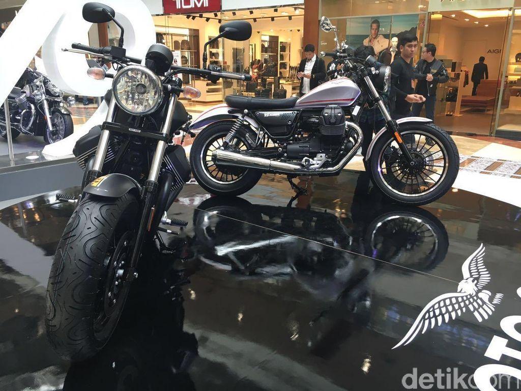 Begini Spek Moto Guzzi V9 Roamer dan Bobber