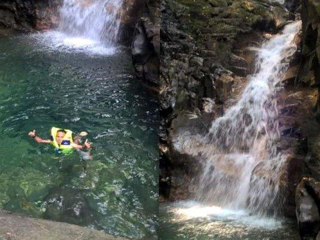 Bogor Punya Air Terjun Berair Biru Jernih, Curug Cibulao Namanya