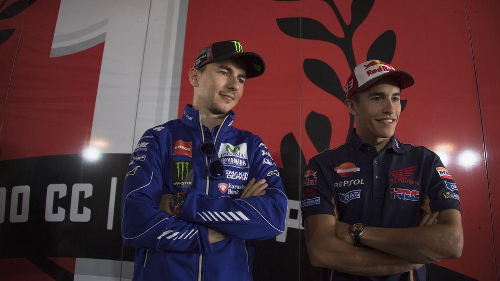 Lorenzo Sebut Marquez Favorit Juara di Musim Depan