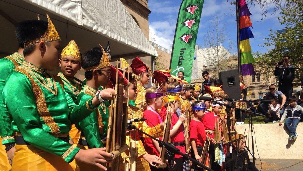 Potret Festival Indonesia Terbesar di Bumi Selatan