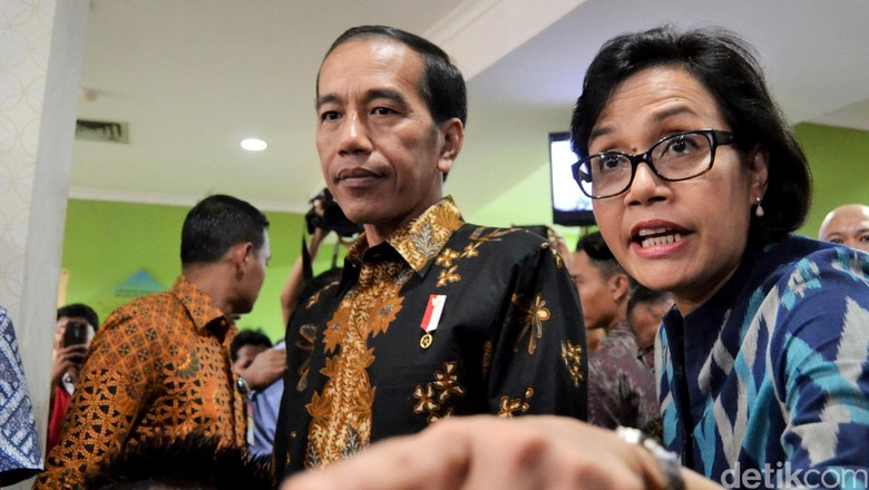 Jokowi Sebut Daya Beli Jadi Isu Politik, Ini Penjelasan Sri Mulyani
