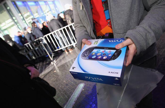PlayStation Vita. Foto: Istimewa