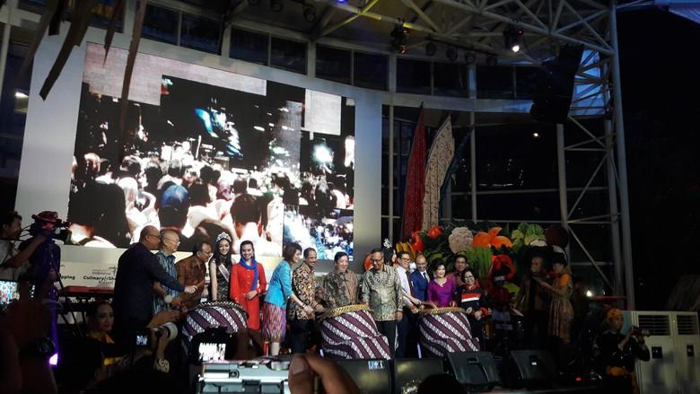 Pembukaan WICSF di Gandaria City, Jakarta (Kurnia/detikTravel)