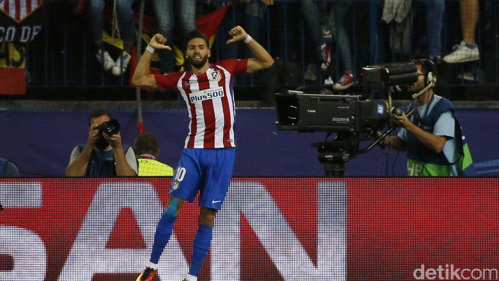 Yannick Carrasco Menangkan Atletico Atas Bayern