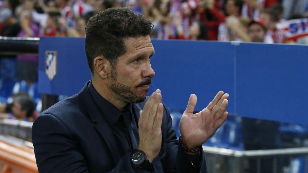 Tanggapi Isu Kepergian Simeone, Presiden Atletico: Dia Punya Kontrak yang Panjang