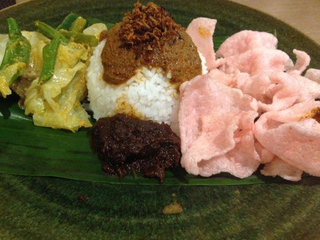 Rengginang Isi hingga Nasi Sayo Bisa Dicoba di Festival Kuliner Nusantara
