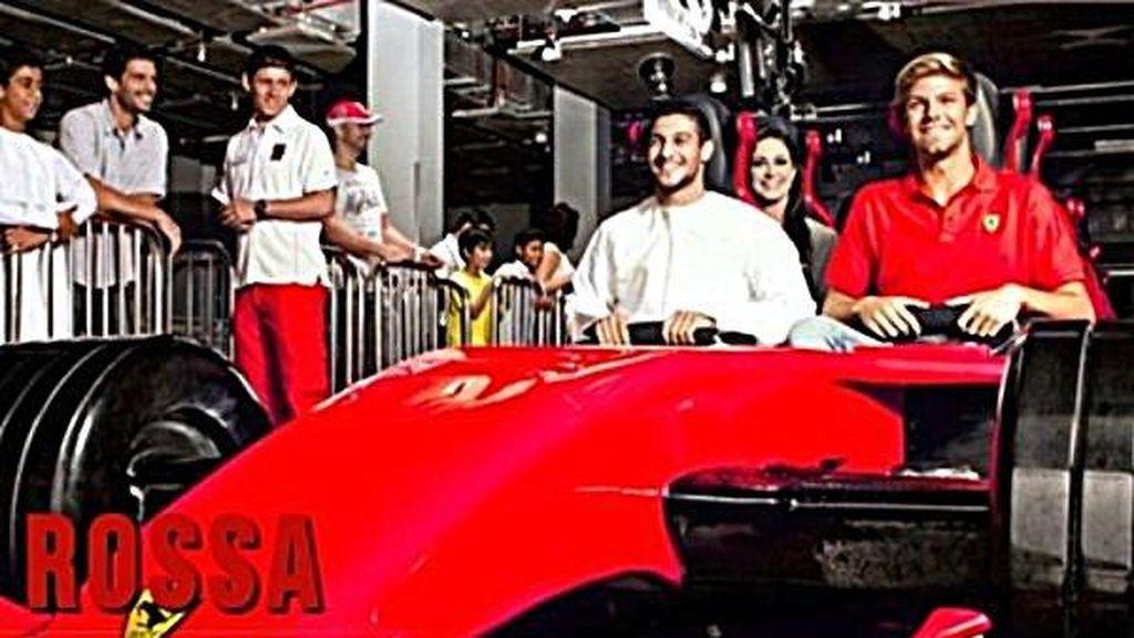 Paling Cepat di Dunia, Roller Coaster Ferrari World di Abu Dhabi