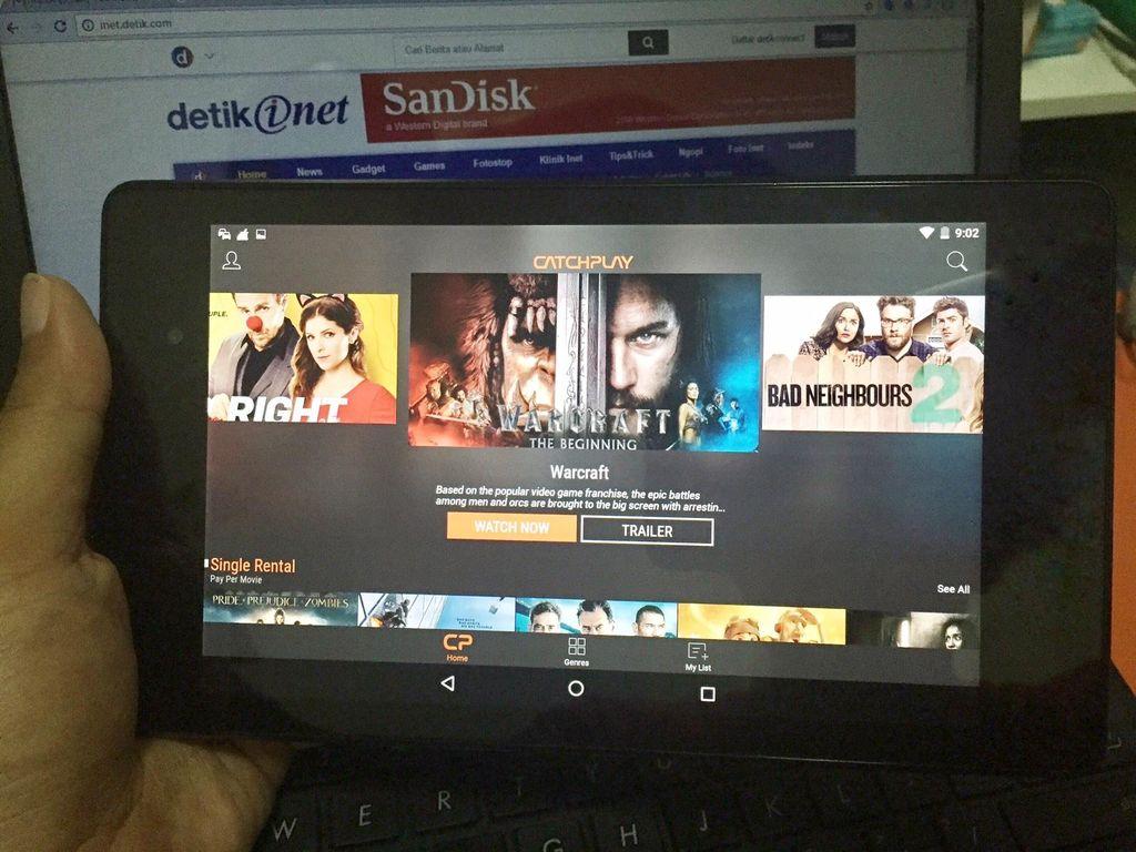 Catchplay Tantang Netflix cs di Indonesia