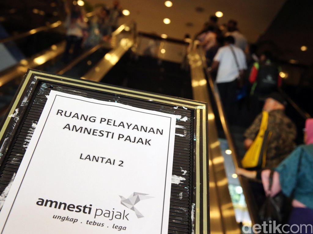 Peserta Tax Amnesty Antre di Kantor Pajak