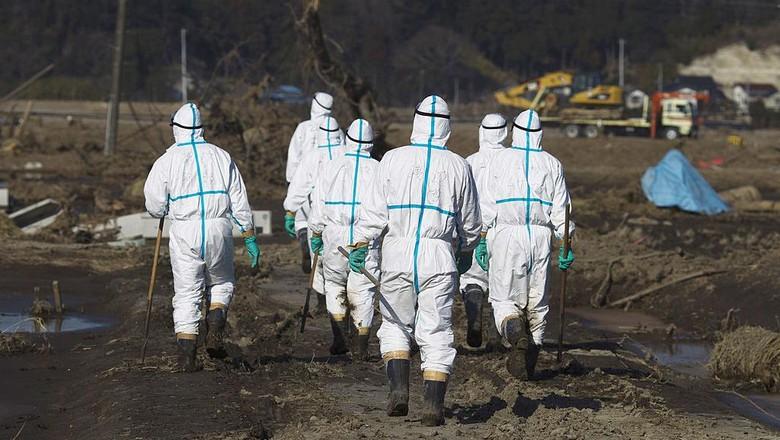 Ilustrasi Reaktor Nuklir Fukushima (Athit Perawongmetha/Getty Images)