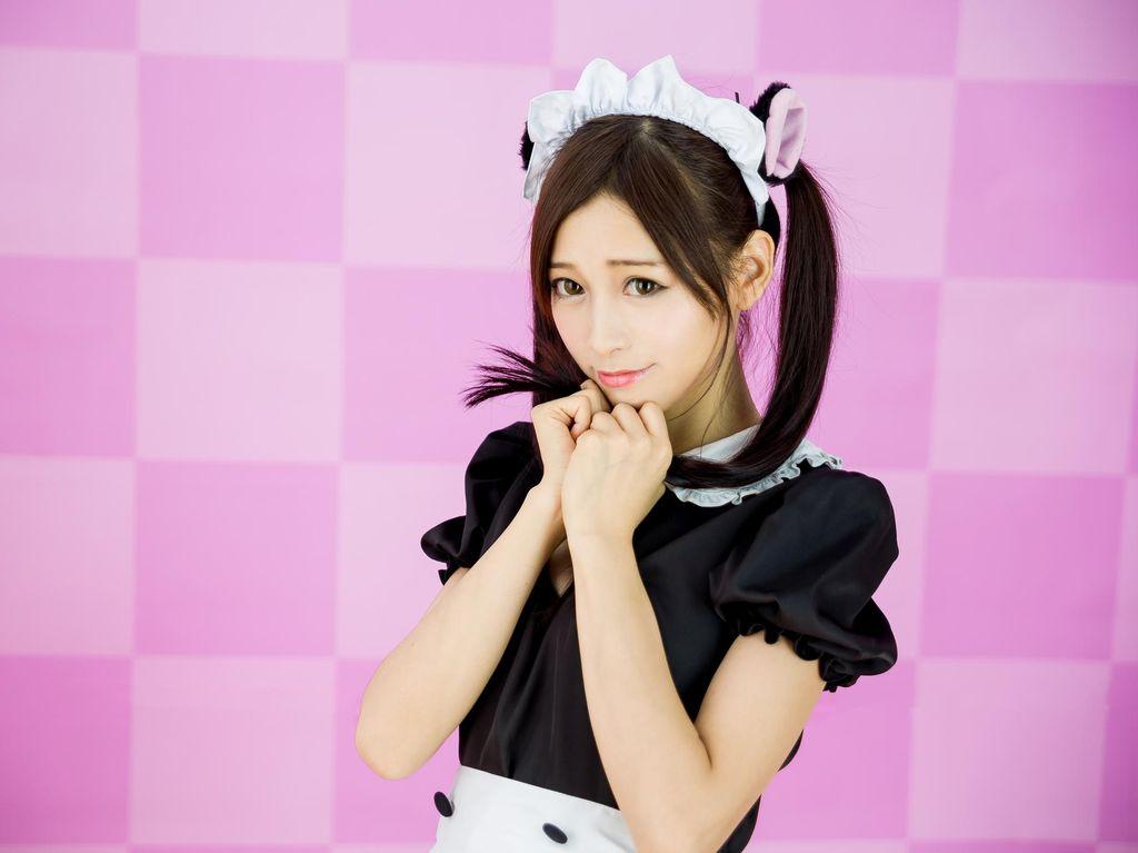 Foto: Cantik & Centil Gadis Maid Cafe di Jepang