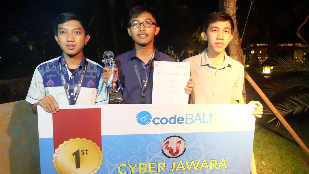 Remaja Belasan Tahun Juarai Kompetisi Hacker Nasional