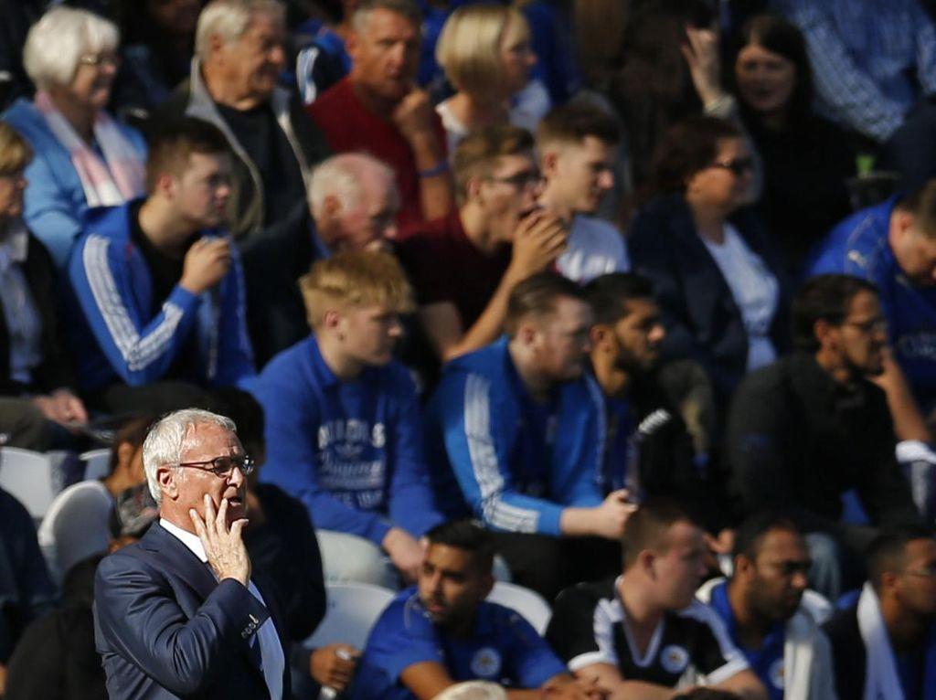 Leicester Dalam Jangkauan Zona Degradasi, Ranieri: Tak Ada Ketakutan