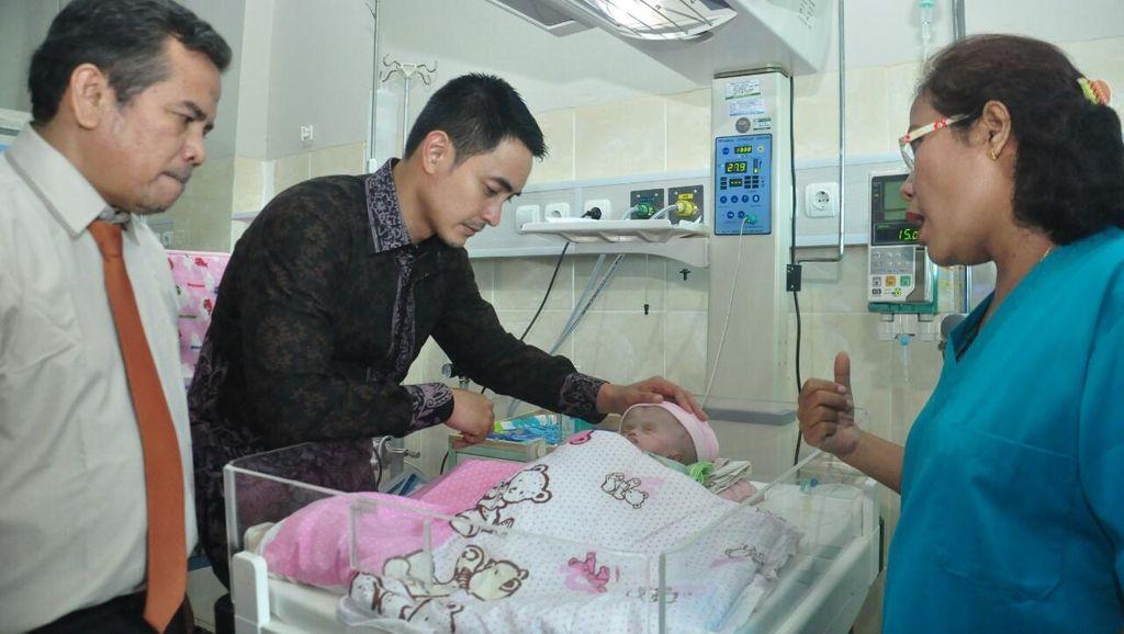 Baru Lahir, Bayi Hidrosefalus Ditinggalkan Ibunya di Rumah Sakit Jambi