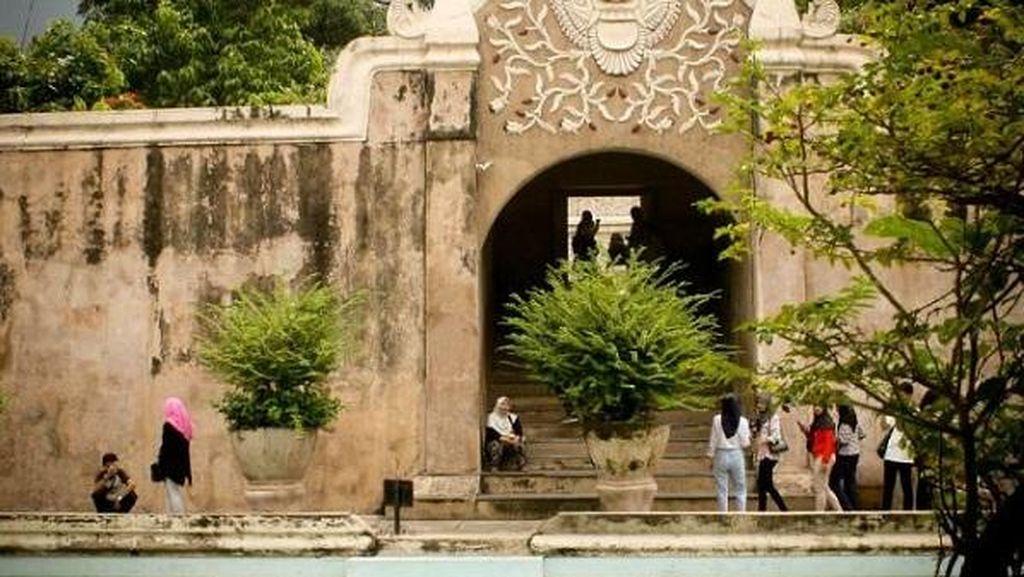 Taman Sari Ngayogyakarta, Komplek Pemandian Sultan Yogya