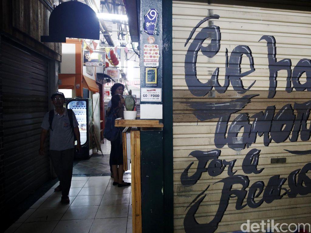 Pasar Santa Mulai Kehilangan Pamornya