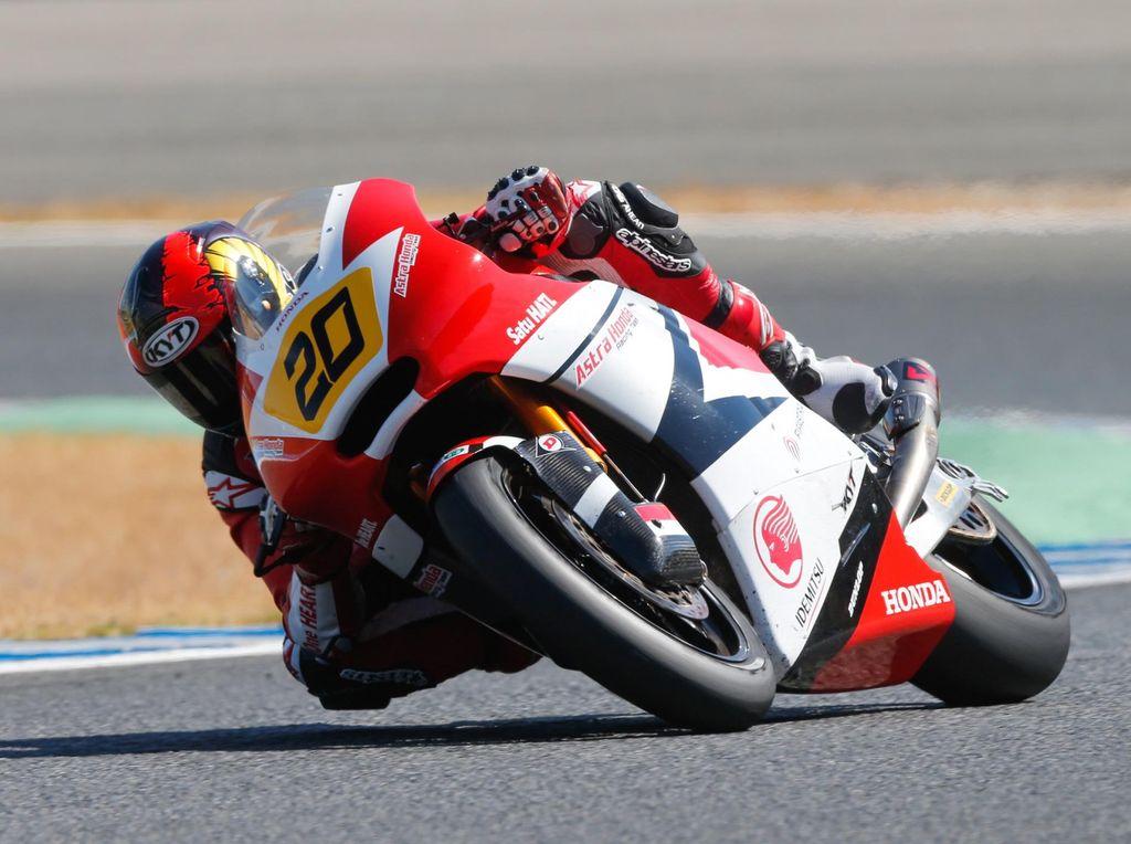 Dimas Ekky Finis Kelima di Jerez, Andi Gilang Sempat Alami Chattering