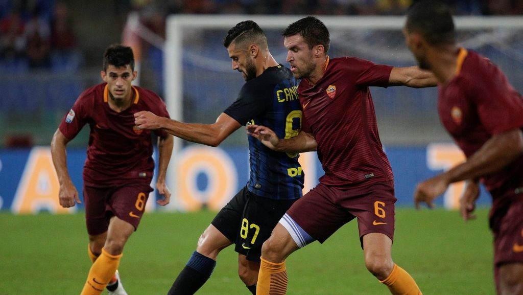 Duel Roma vs Inter Panaskan Olimpico