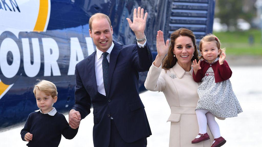 Curhat Pangeran William yang Sempat Kewalahan Jadi Seorang Ayah