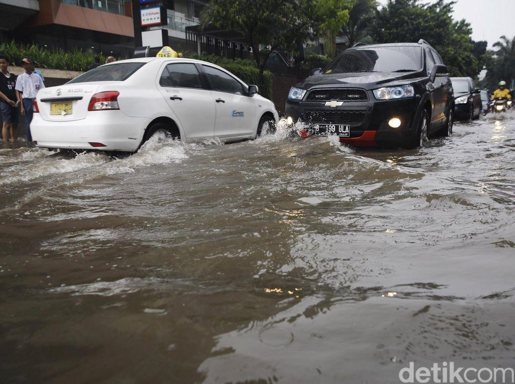 Kemang Kembali Terendam Banjir