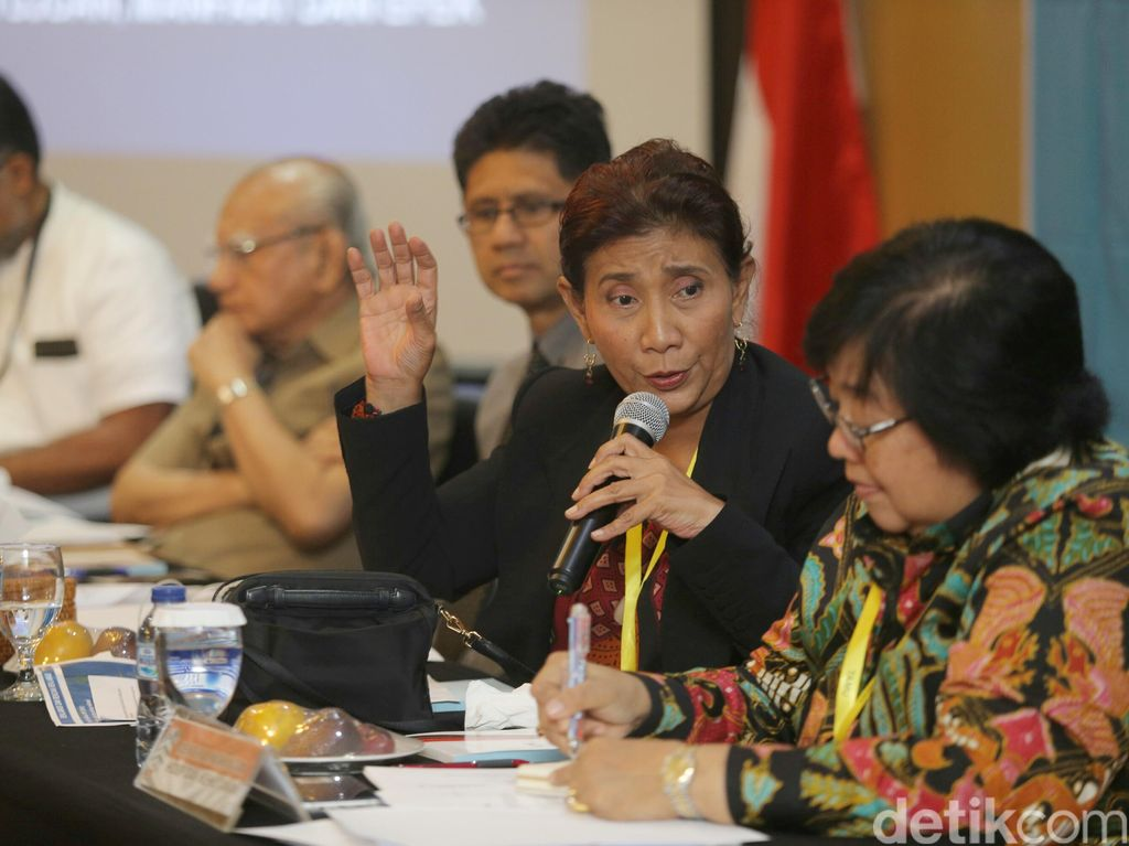 Menteri Susi dan Siti Nurbaya Gelar Diskusi Reklamsi di KPK