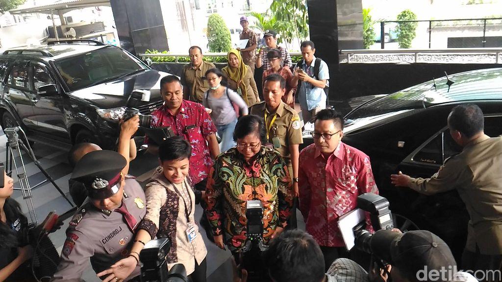 Menteri Susi dan Siti Nurbaya Sambangi KPK, Diskusi Soal Kebijakan Reklamasi