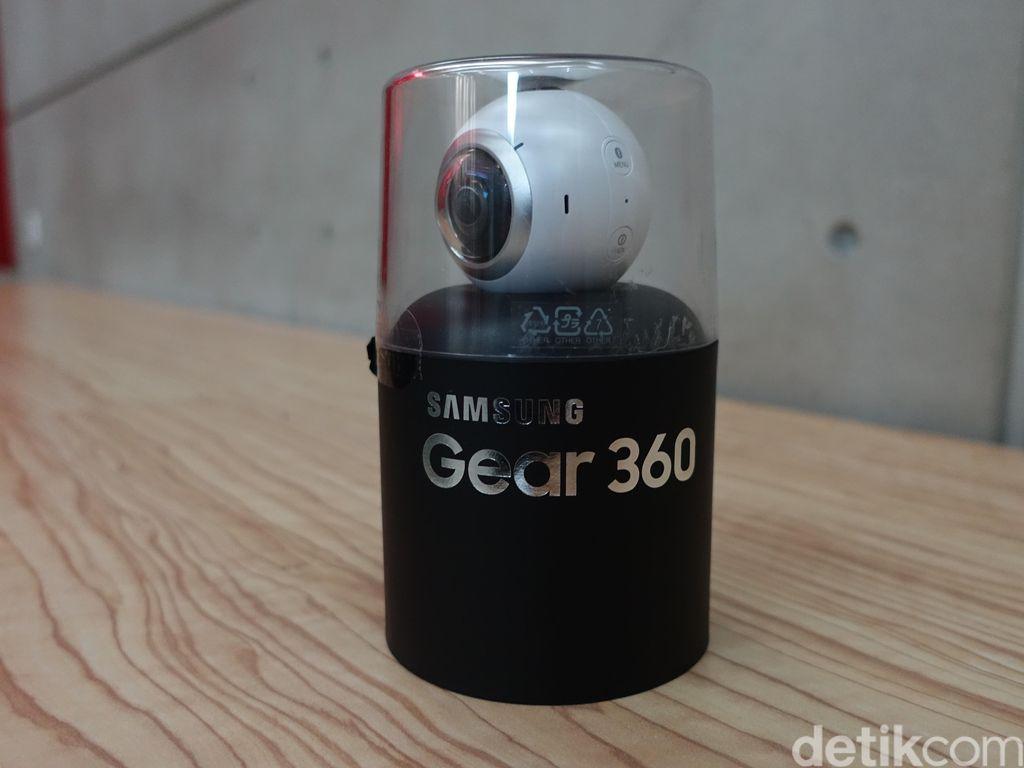Membongkar Samsung Gear 360