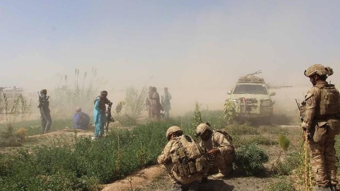 Seorang Tentara AS Tewas Akibat Ledakan Bom di Afganistan