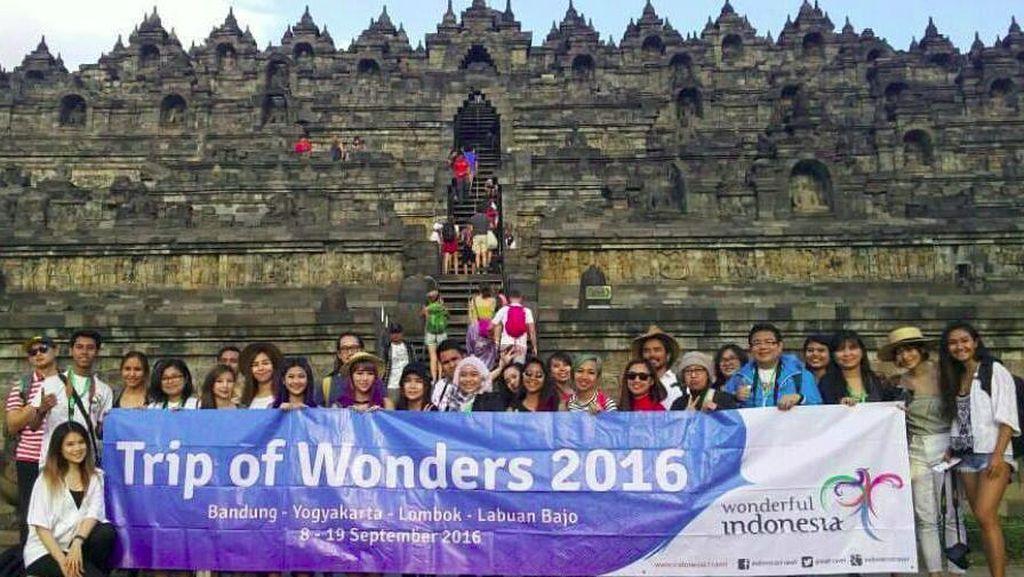 25 Travel Blogger Dunia Siap Promosikan Pariwisata Indonesia