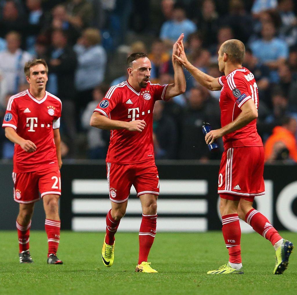 Ribery Punya Firasat Bayern Bakal Raih Treble