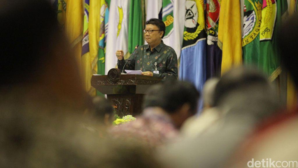 Mendagri Sindir Gubernur Kalteng soal Penembakan Bandar Narkoba