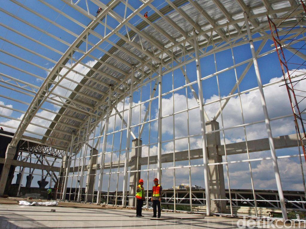 Pembangunan Terminal Baru Bandara Supadio Dikebut
