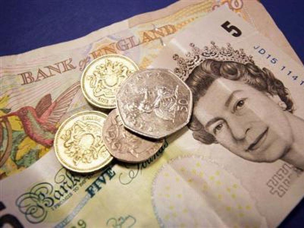 Pound Sterling Jatuh 6% Dalam Sehari