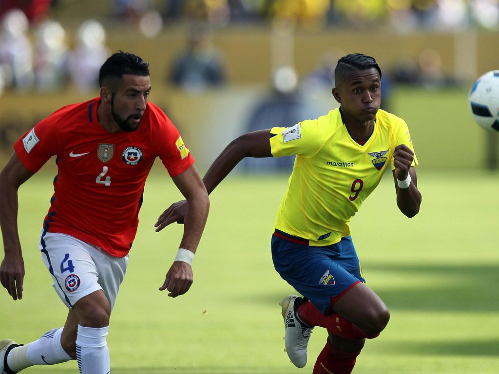 Chile Dihajar Ekuador 0-3