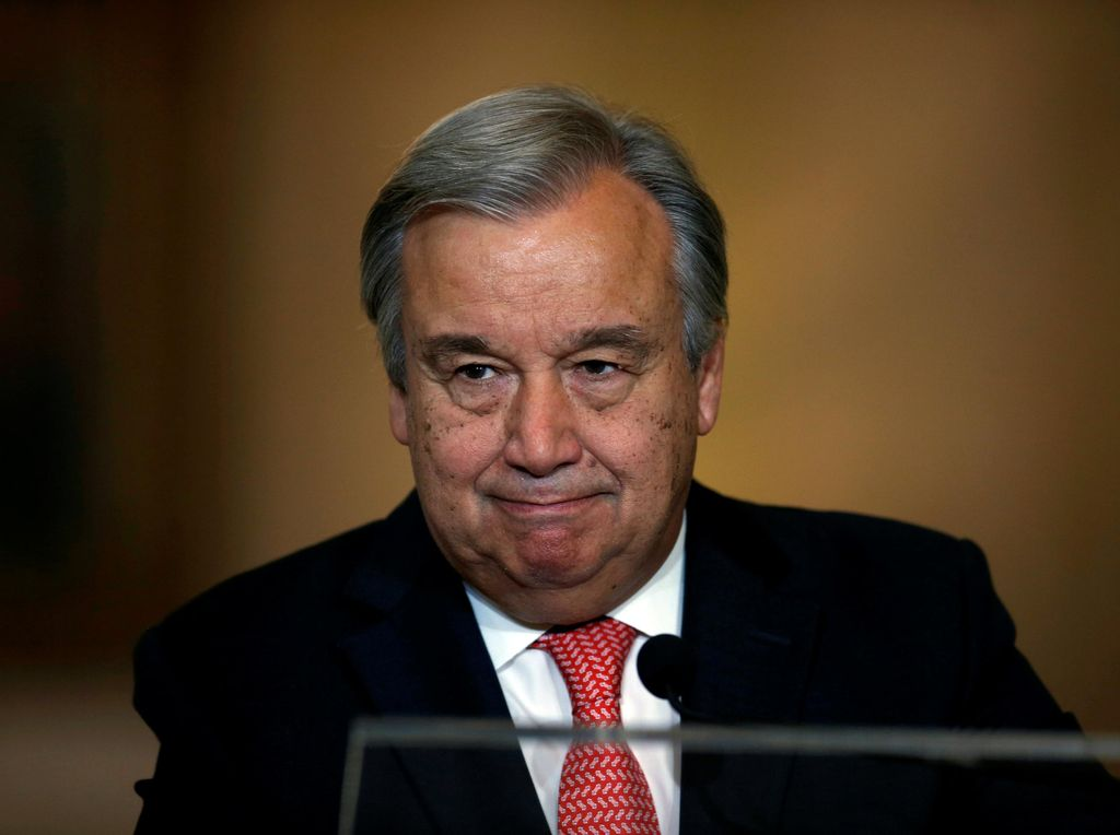 Antonio Guterres, dari Pejuang Hak Pengungsi Menjadi Sekjen PBB