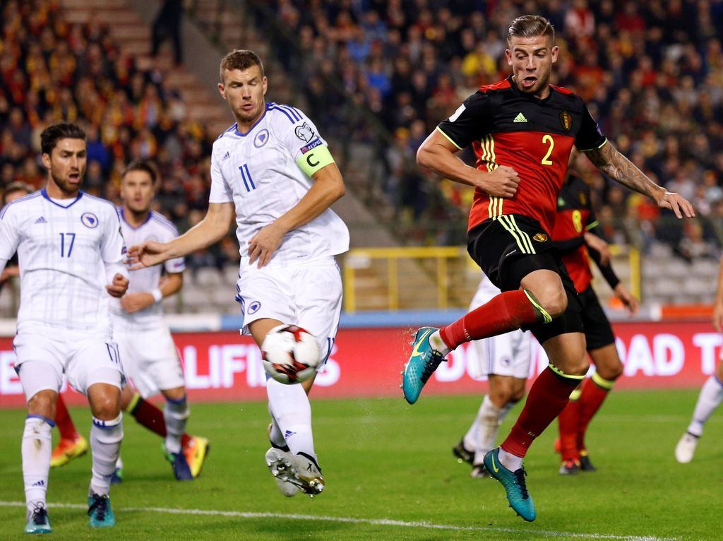 Belgia Hajar Bosnia 4-0