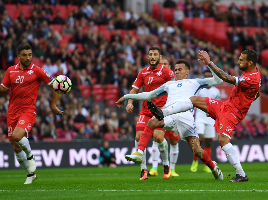 Inggris Raih Kemenangan 2-0 Atas Malta