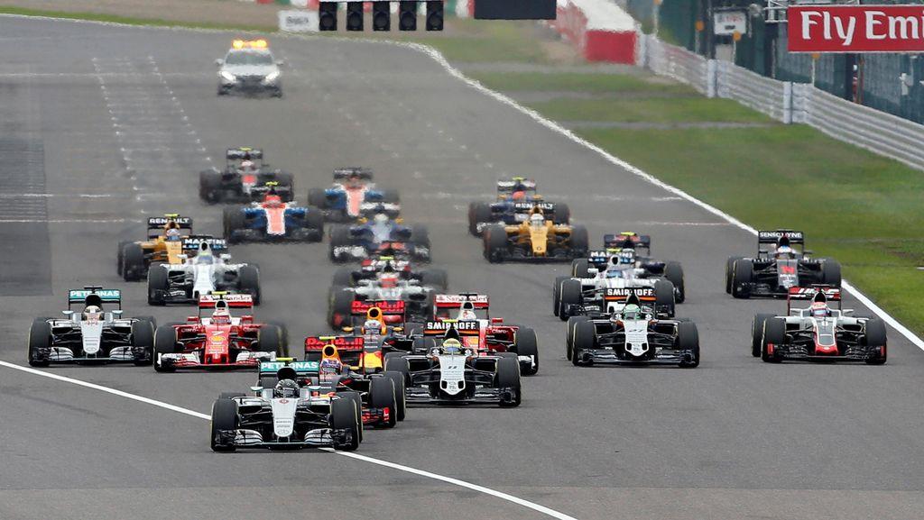 Kalender F1 2017 Resmi Dirilis