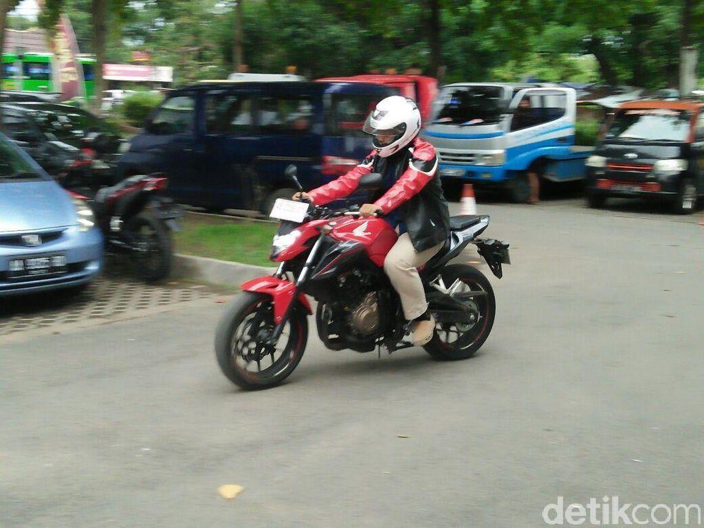 Pengunjung Kustomfest Bisa Jajal Motor Honda