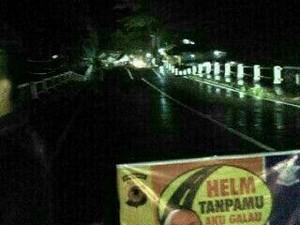 Jembatan di Pangandaran Ambles, Menteri PUPR: Sekarang Lagi Pasang Barrier