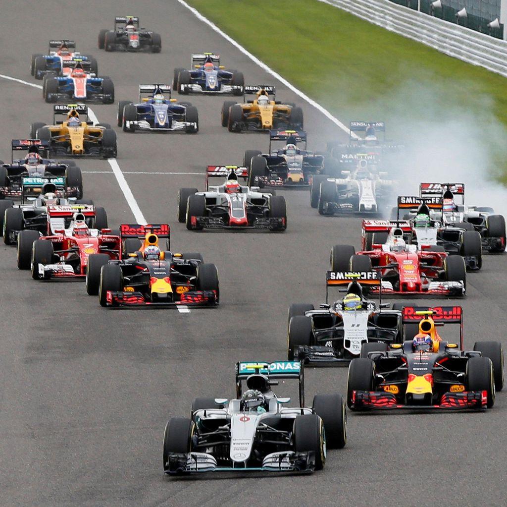 Tersisa 4 Kursi di Line-up Pebalap F1 2017