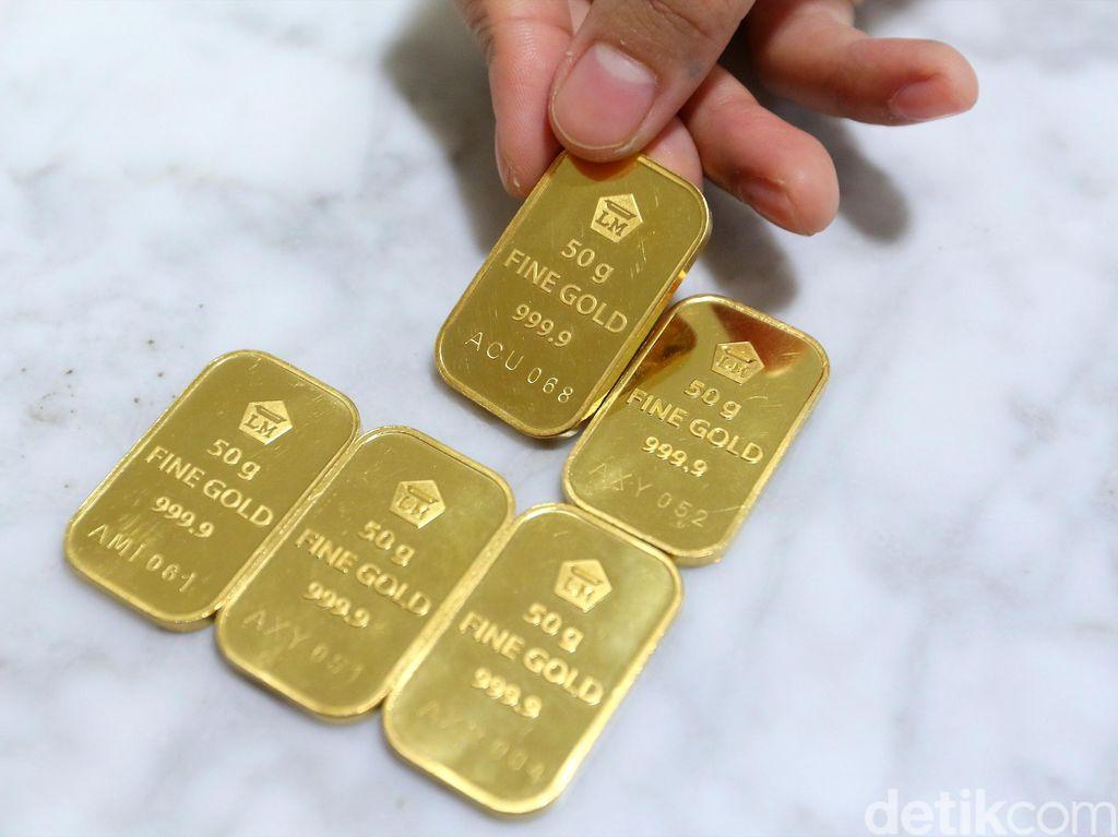 Harga Emas dan Dolar AS Lagi Tinggi, Jual Nggak Nih?
