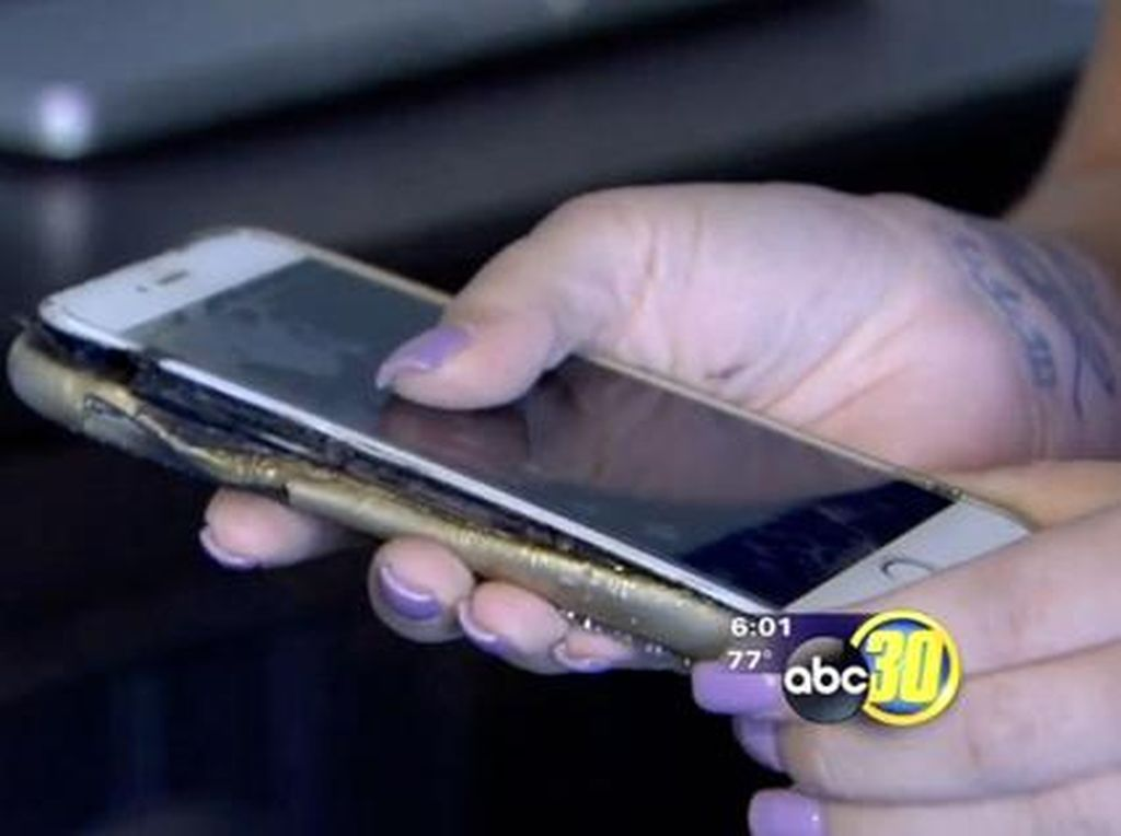 Giliran iPhone 6 Plus Meledak