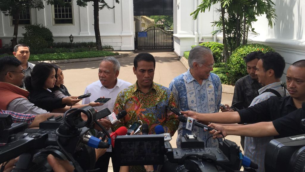 Tiga Menteri Ini Ditugaskan Jokowi Bangun Irigasi di Seluruh Indonesia