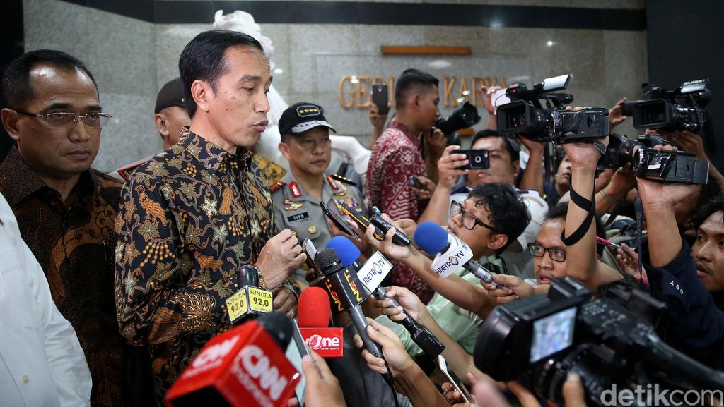 Indonesia Punya Banyak Air, Jokowi: Cuma Jadi Banjir