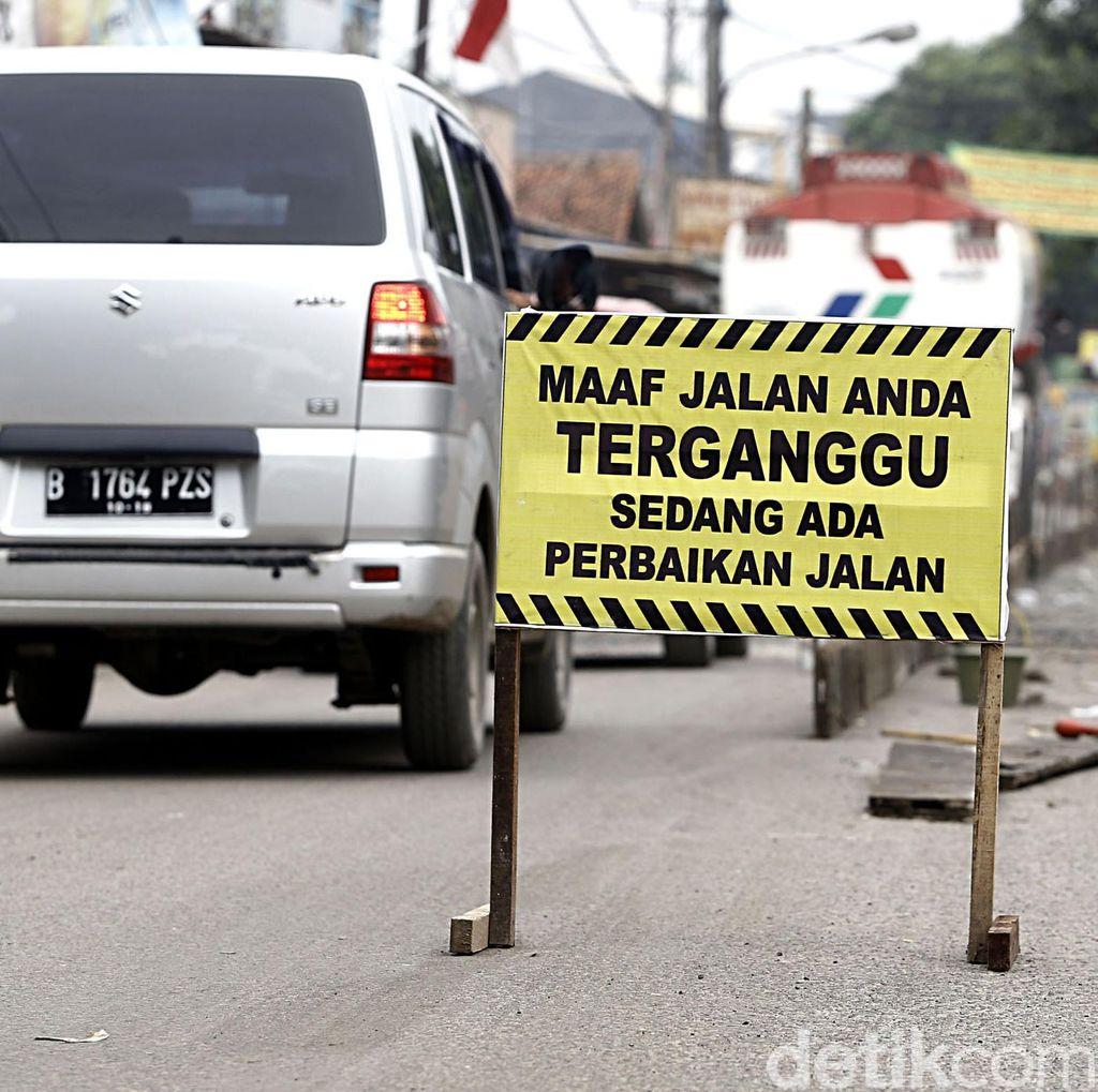 Jalur Brebes-Banyumas Diperbaiki, Kendaraan Besar Dilarang Melintas