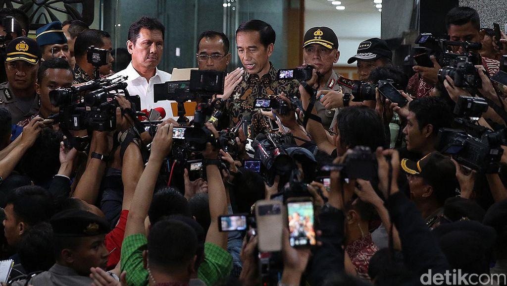 Presiden Jokowi Pantau OTT di Kemenhub