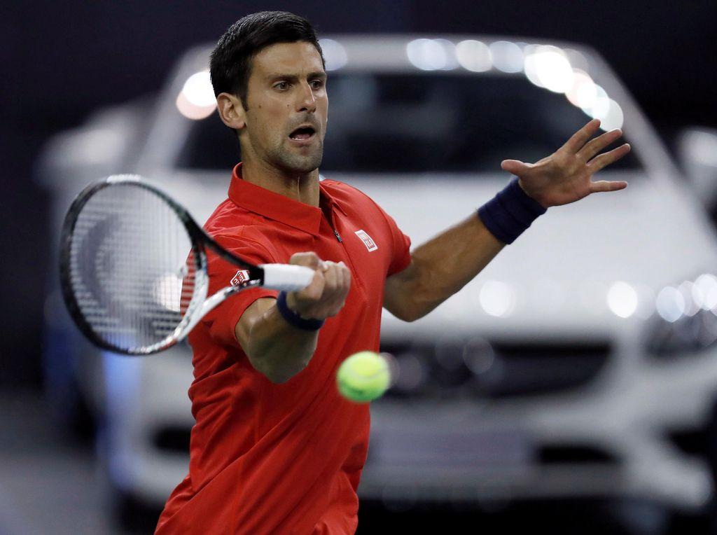 Djokovic Lewati Rintangan Pertama