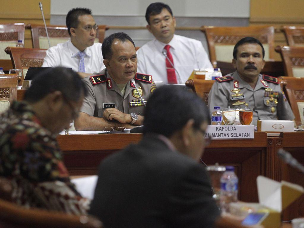Panja Karhutla Bahas Kebakaran Hutan di Kalimantan