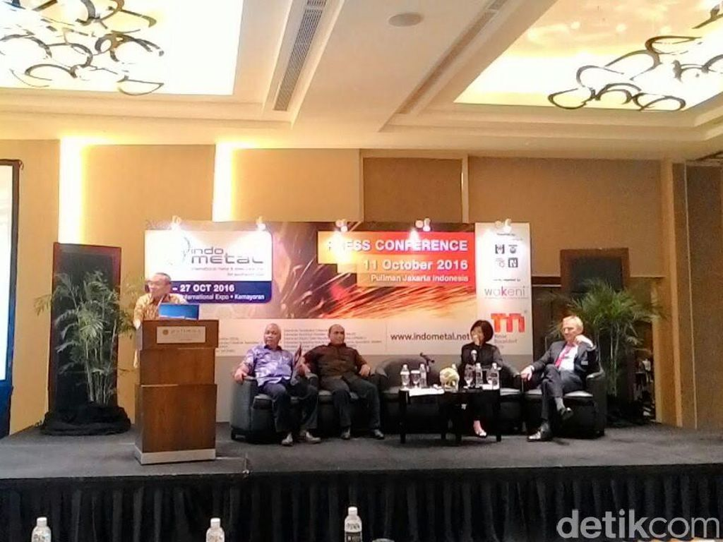 Promosikan Bisnis Baja, Indonesia Gelar Pameran Indometal